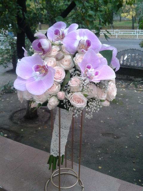 Букет невесты «Бабочка»