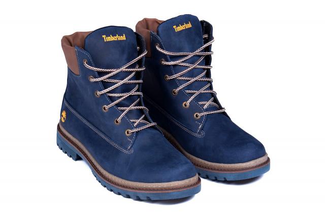 a322ab4d Мужские зимние кожаные ботинки Timberland crazy shoes, цена 1280.00 ...