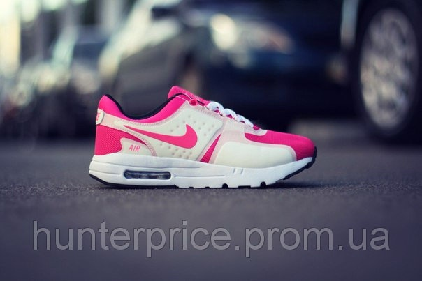 49025e85 Женские кроссовки Nike Air Max Zero, pink+white, розовые с белым, размеры  37, 38, 39, 40