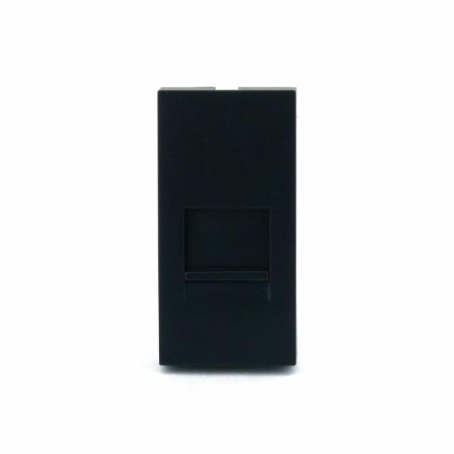 0f28e5fefccfa Розетка интернет RJ-45 Cat 6 Livolo, цвет черный (VL-C7-1C-12 ...