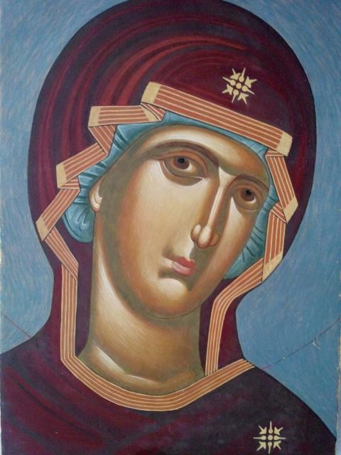 Психосострия - икона Богородицы (Душеспасительница)