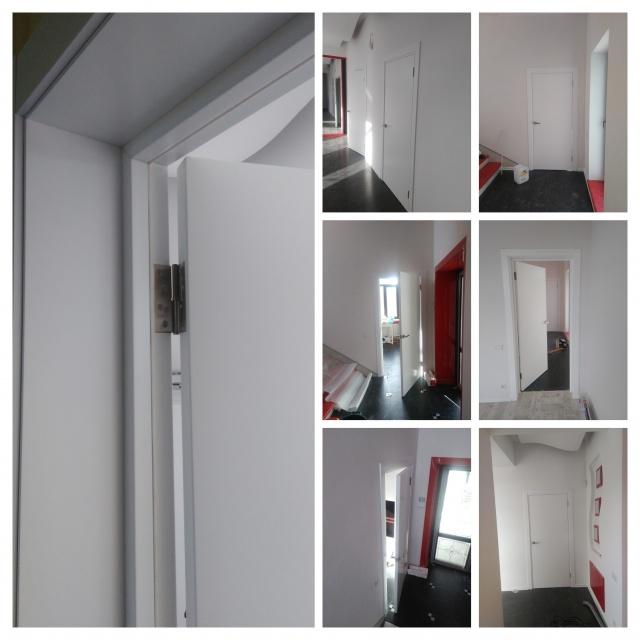 Монтаж двери доборная доска установка наличников с 2Х сторон