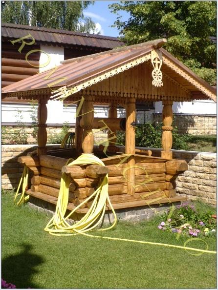 Деревянные сооружения на вашем участке с элементами резьбы