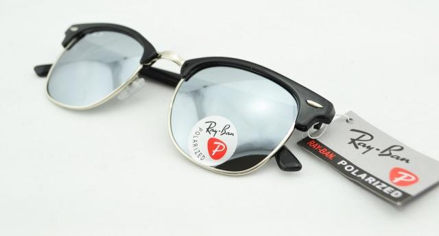 Солнцезащитные очки Ray Ban Clubmaster 3016 C7 поляризационные, цена ... 3fb3cc2d4b1