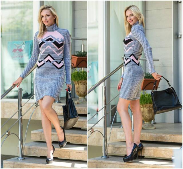 женские теплые платья купить теплое платье вязаное платье цена