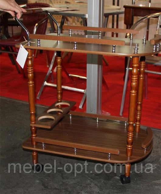 сервировочный столик на колесиках W 17 сервировочная