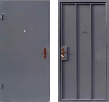 Двери входные из металла