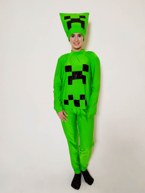 Аниматор Майнкрафт Крипер (Minecraft)