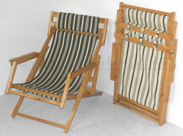 Раскладная деревянная мебель «Шезлонг»