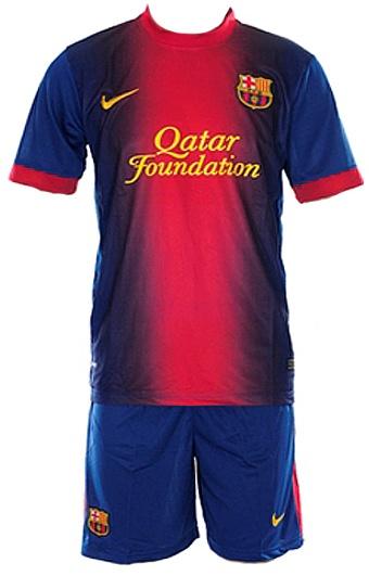 Футбольная форма Barcelona 12/13 (домашняя)