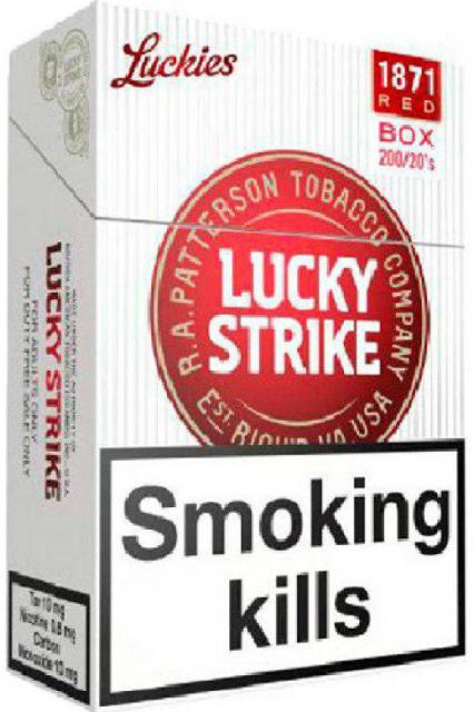 Сигареты лаки страйк красные купить капсулы для сигарет отдельно купить вкусовые